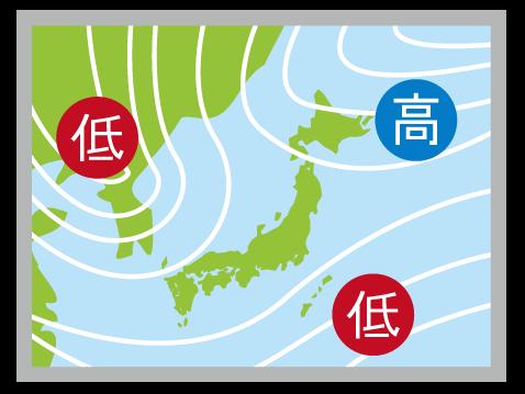 teikiatsu なんで天気が悪いと体調不良になるの?(低気圧がもたらす体の不調)
