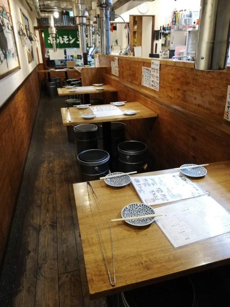 sanshirou2-naka2-768x1024 炭火焼肉ホルモン 横綱三四郎 西荻窪2号店